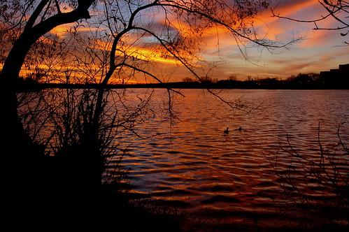 lake sunrise regina saskatchewan wascanapark
