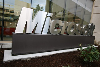 Microsoft sign outside building 99 | by Robert Scoble