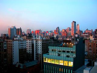 City In Dawn