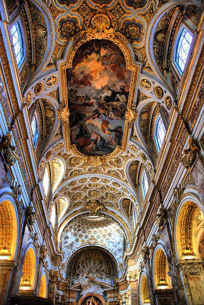Roma Iglesia De San Luis De Los Franceses Saint Louis De Flickr
