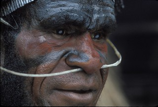 Portrait of a traditional tribal warrior | by World Bank Photo Collection