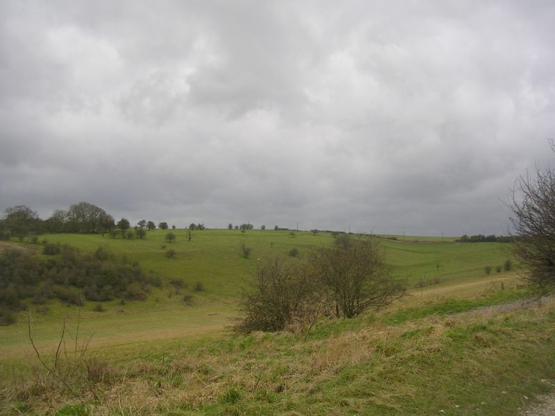 Streatley Warren From the bottom. Goring Circular