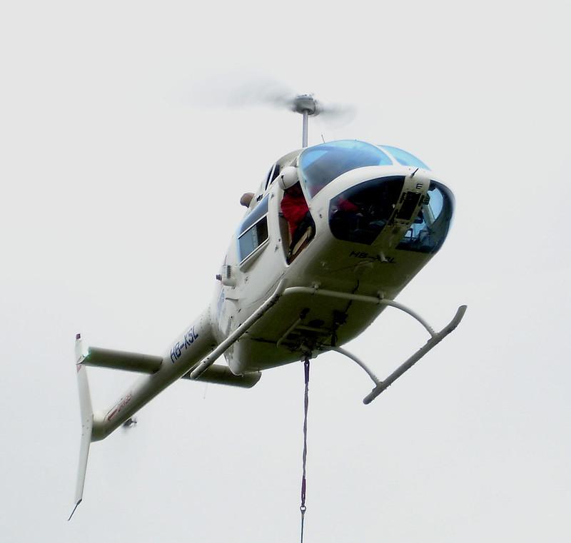 Helikopter zum leichten Bauen