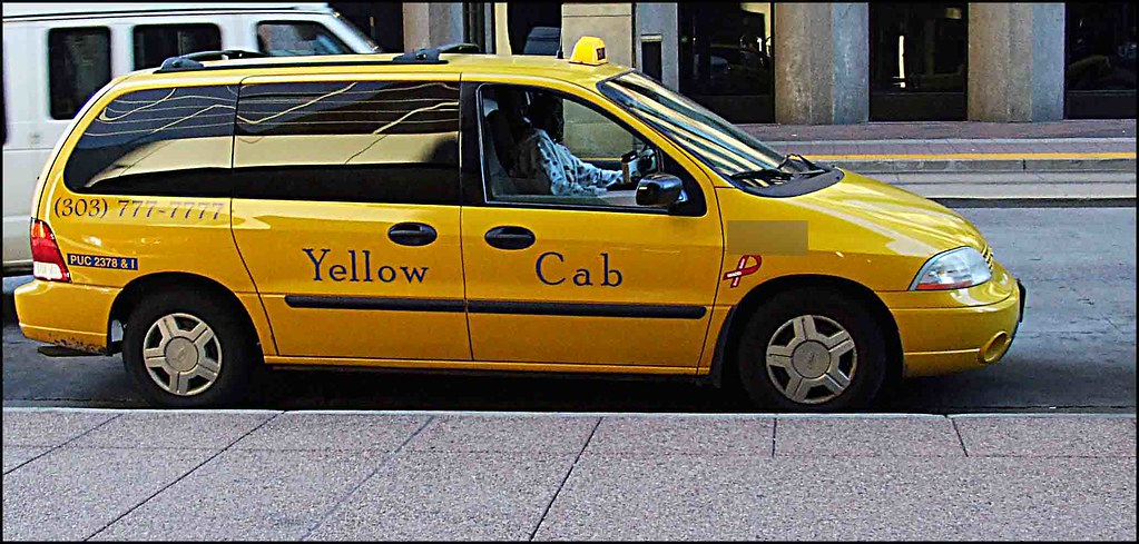 Yellow Cab Denver >> Denver Yellow Cab Take A Chance Jeffrey Beall Flickr
