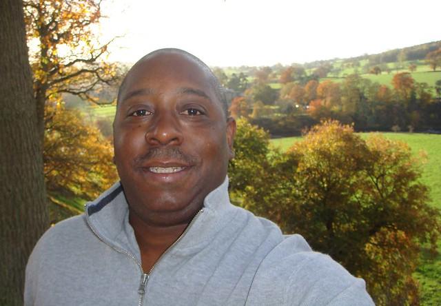 Moi at Bolton Abbey