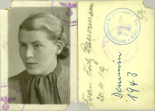 1943 German Passport
