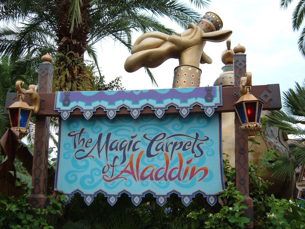 The Magic Carpets of Aladdin Magic Kingdom Walt Disney Wor… | Flickr