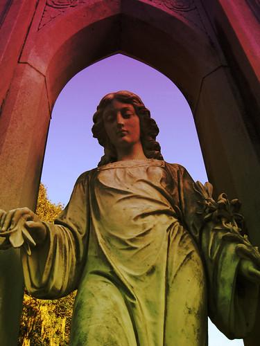 cemeteries statues southerngothic cemeteryart diamondclassphotographer flickrdiamond