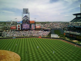 Rockies game on a Sunday afternoon | by Peter Soeth