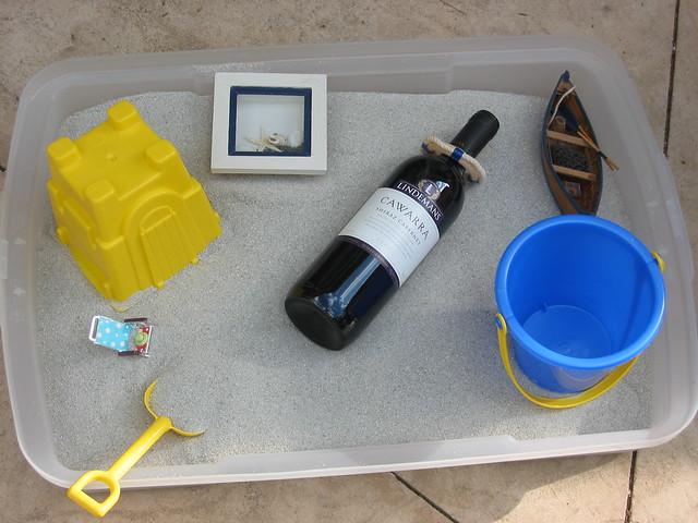 Beach in a Litter Box