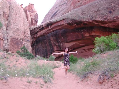 Moab Cyn Hike 2003