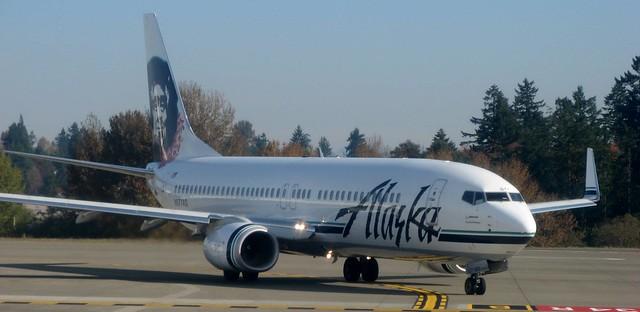 Alaska bound at last!