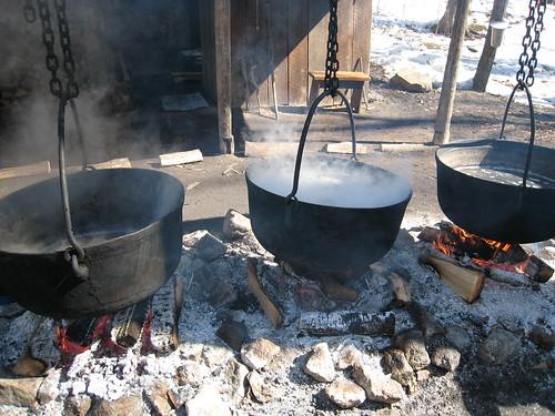 Boiling the sap | by elPadawan