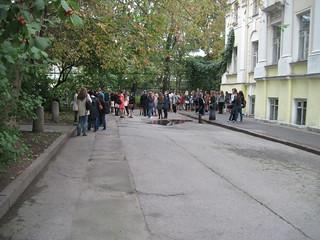 1 сентября 2014 года в Литинституте.  Фотографы: А.Василевский, Д.Дядькова, О.Лисковая.