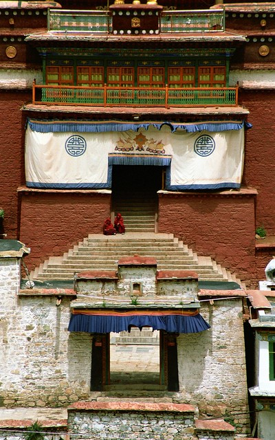 Tibet བོད། ,Tsurphu Gompa མཚུར་ཕུ་