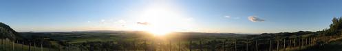 sunset gisborne waimatavalleylookout