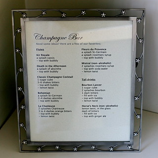 Champagne Bar cheat sheet | by Married with Dinner