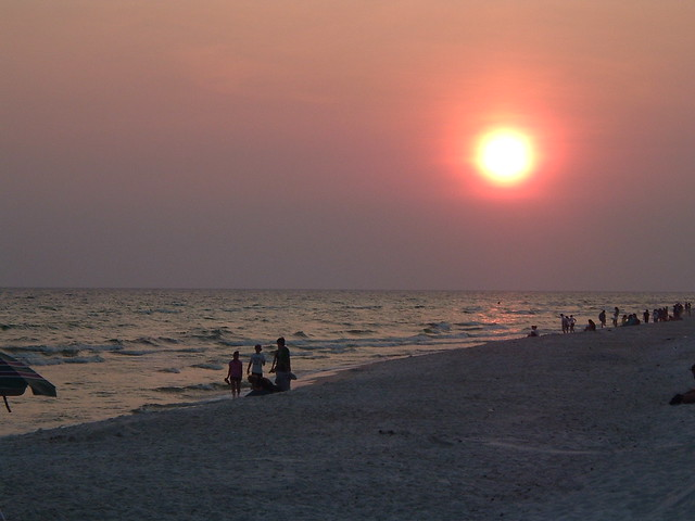 Sunset at Panama City Beach 1