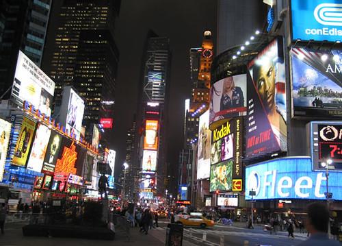 Broadway de noche
