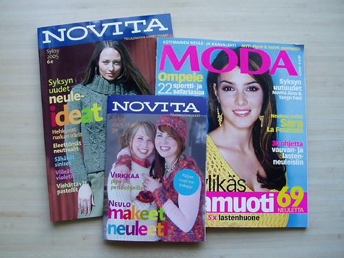 heinäkuun lehtiä