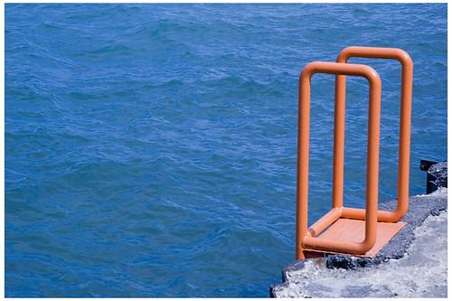 Ladder to Lake Michigan