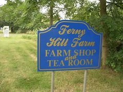 Ferny Hill Farm Sign