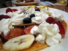 pancake side view