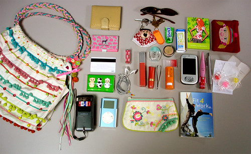 What's in my bag? 10.07.2005 | by FunKinki