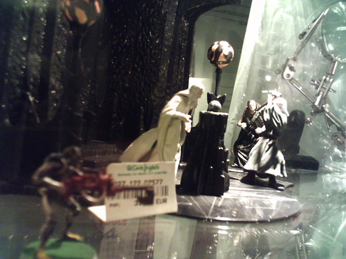 Saruman recibe visitas