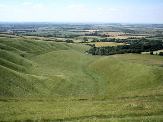 View from White Horse Hill, Uffington | by Robert Silverwood