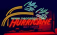Hurricane Neon Sign