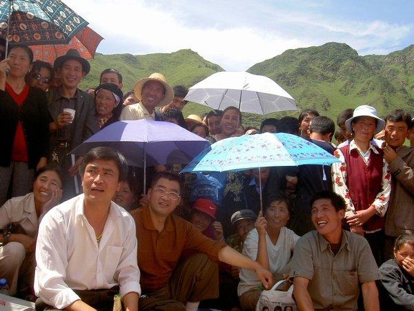 Listening to Qinghai 'Huar'