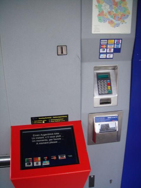 SBB Billettautomat