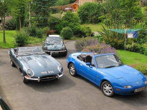 Fancy Car line-up