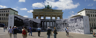 Brandenburger Tor then and now | by plastictaxi