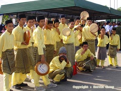 Kompang-team