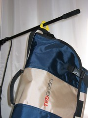 Timbuk2 bag yellow thingy