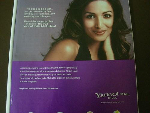Malaika Arora Khan for Yahoo!