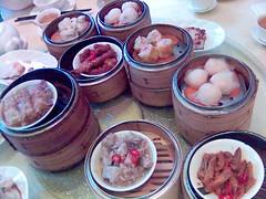 More steamed dumplings