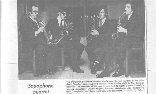 Danovitch Saxophone Quartet