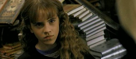 Hermione in The Chamber of Secret