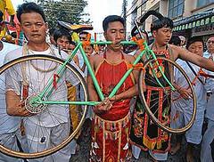 bike piercing
