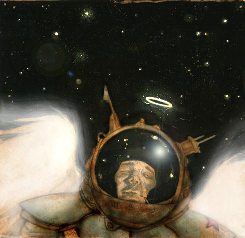 cosmonaut photoshop finish
