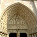 Notre Dame Right Hand Side Arched Entrance