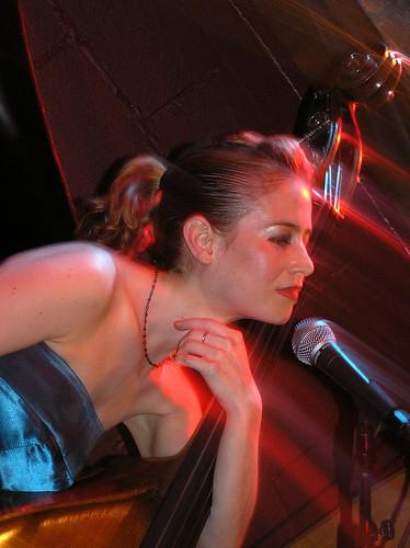Saskia Lane: Portrait with Double Bass