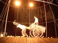 Espectáculo de novo-circo