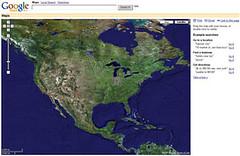 Google Map 网站主页