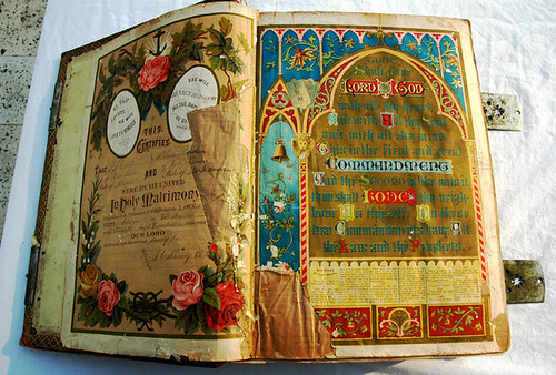 120 year old Bible title page (as of 2005) American | by Wonderlane