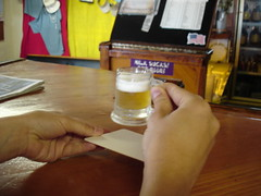 A little beer