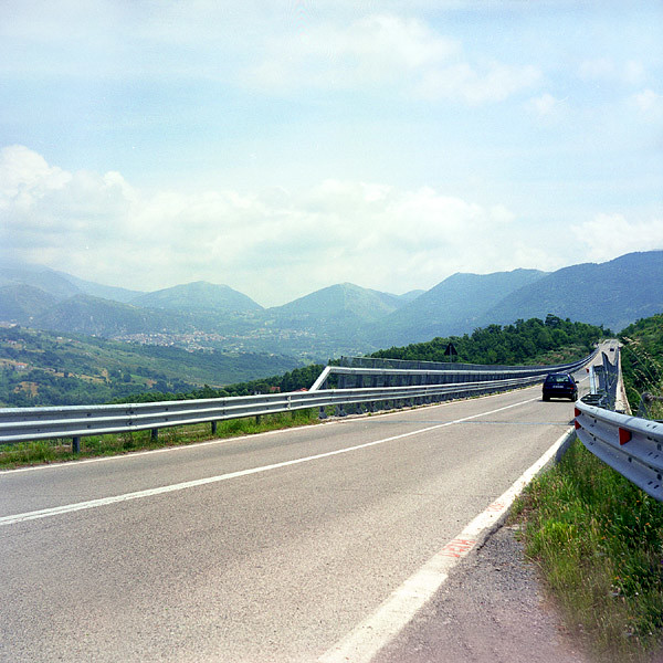 Italy / Road to south